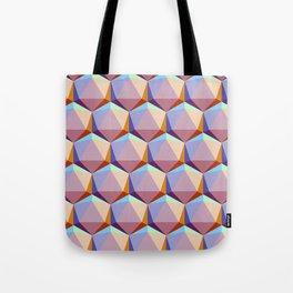 Icosahedrons Tote Bag