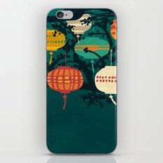 Lanterns iPhone & iPod Skin