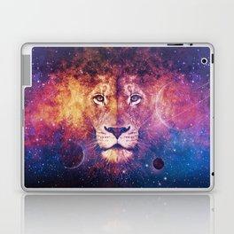 Galaxy Lion Face Laptop & iPad Skin