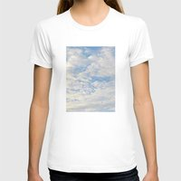 clouds T-shirts featuring Clouds by lillianhibiscus