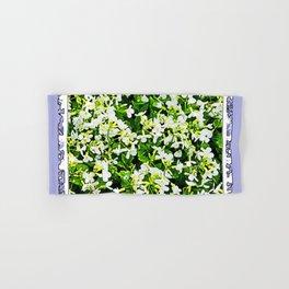WHITE FLOWERS OF ARABIS Hand & Bath Towel