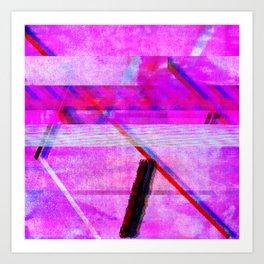 Databending #1 Art Print