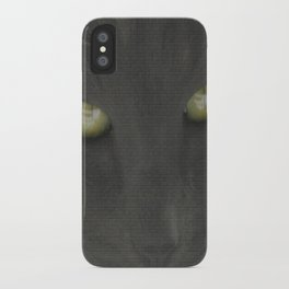 walls have eyes iPhone Case