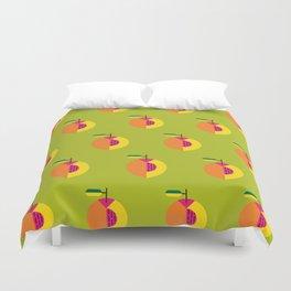 Fruit: Peach Duvet Cover