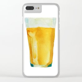 For the love of Beer! Clear iPhone Case