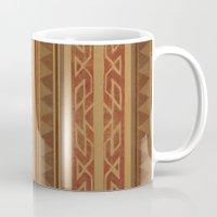 navajo Mugs featuring Navajo  by Terry Fan