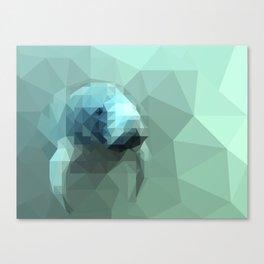 "Fragments ""Manatee"" Canvas Print"