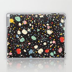Modern Scandinavian Multi Colour Color Pebbles Black Laptop & iPad Skin