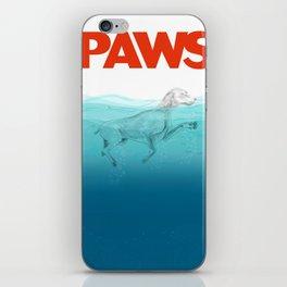 PAWS iPhone Skin