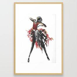 Rhytm - Coola Qvinnor Framed Art Print