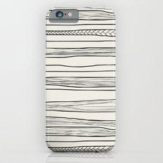 stripes n0 iPhone 6 Slim Case