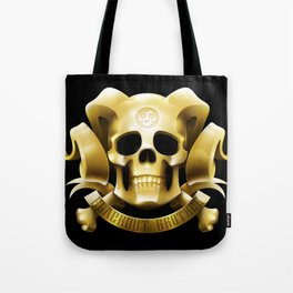 Golden Emblem Tote Bag