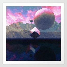 Analogue Sky V2 Art Print