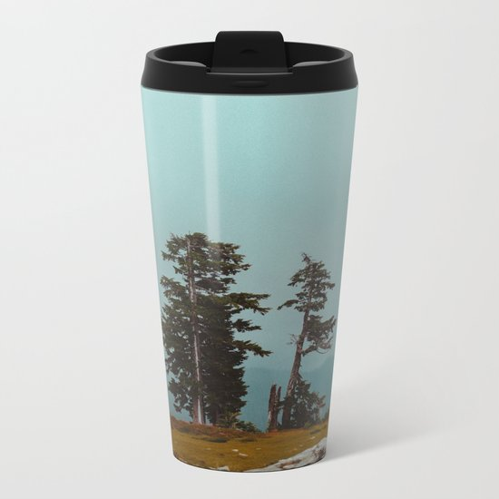 Pacific Northwest Wild Metal Travel Mug