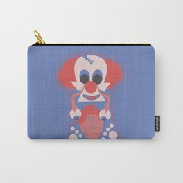 Clown Martians  from Outer Space Carry-All Pouch