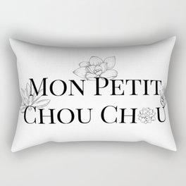 Mon petit Chou Chou succulents Rectangular Pillow