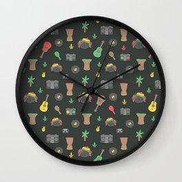 Cute Reggae Wall Clock