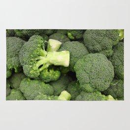 Fresh broccoli Rug