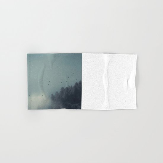 ashen forest Hand & Bath Towel