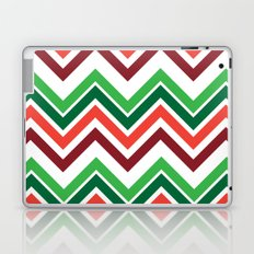 Xmas Chevron Laptop & iPad Skin