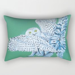 Cat Owl Rectangular Pillow