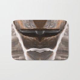 Alien Tribal Mask Bath Mat