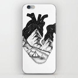 In my heart iPhone Skin