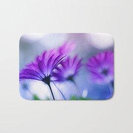Rainbow Flower Bath Mat