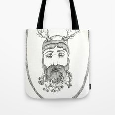 Forest man Tote Bag