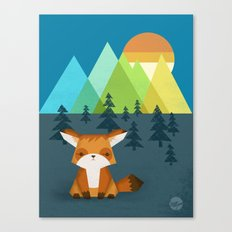 The Sentinel Canvas Print