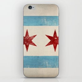 Chicago Flag iPhone Skin