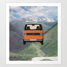 Car Ma Ged Don Art Print