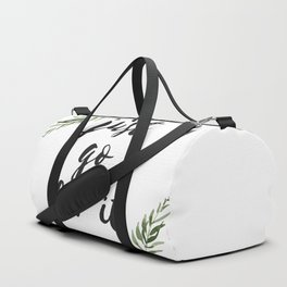 just go for it Duffle Bag
