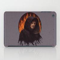 captain hook iPad Cases featuring Darth Hook by Svenja Gosen