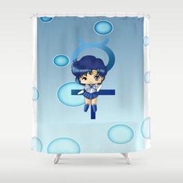 Sailor Mercury Shower Curtain