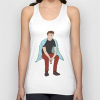 dean winchester Tank Tops featuring Winter Dean Winchester by HarvestMoon