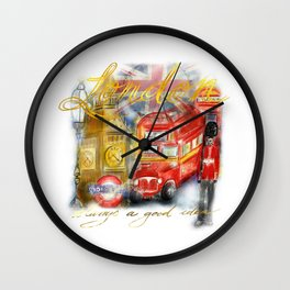 Take me to London Wall Clock