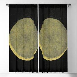 Antique Crescent Moon Blackout Curtain