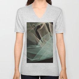 Abstract veil background Unisex V-Neck