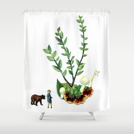 Legs to Walk us, Drop us Shower Curtain