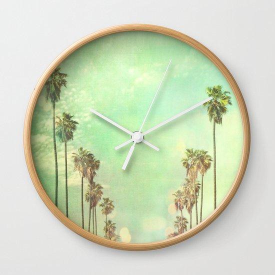 Los Angeles. La La Land photograph Wall Clock