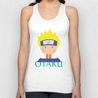 naruto Tank Tops featuring Naruto icons by Maha Akl
