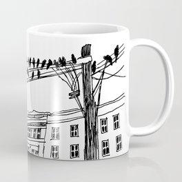 city birds Coffee Mug