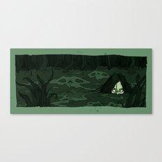 The Moon Bog Canvas Print