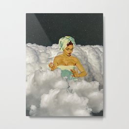 Self Care in the Clouds Metal Print