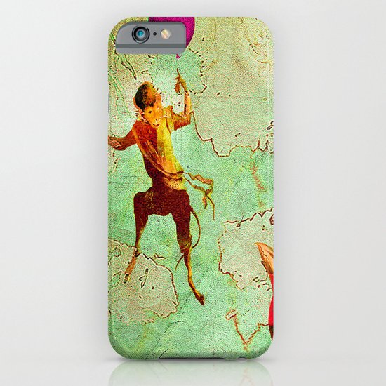 The monkey who wanted to be a bird iPhone & iPod Case
