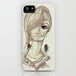 ERDKIND - Child of the earth iPhone Case