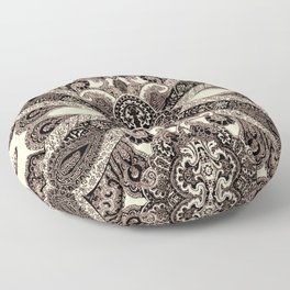 paisley shield Floor Pillow