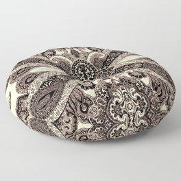 paisley shield Floor Pillow