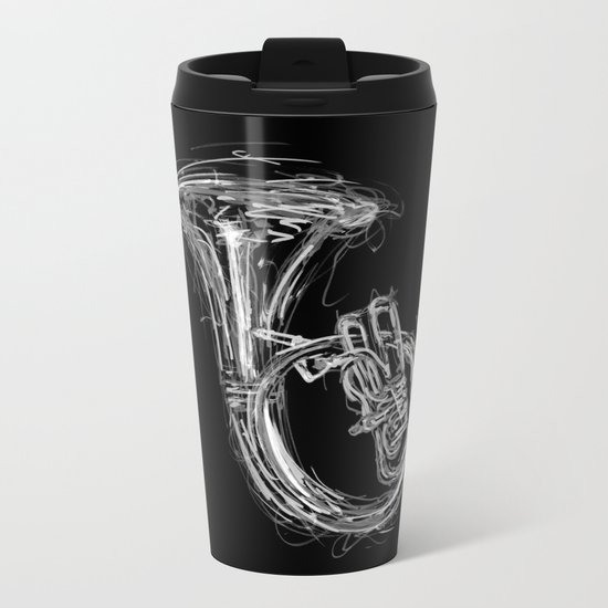 Sousaphone I Metal Travel Mug